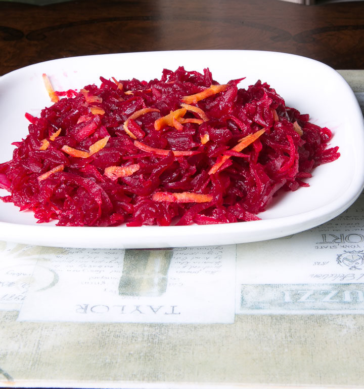 Beetroot salad, South African recipe
