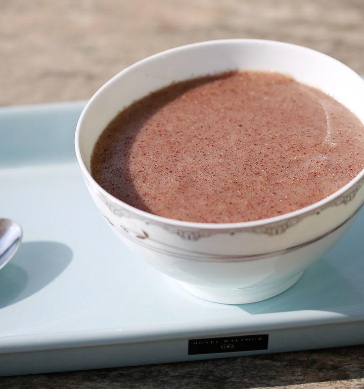 Finger millet porridge.