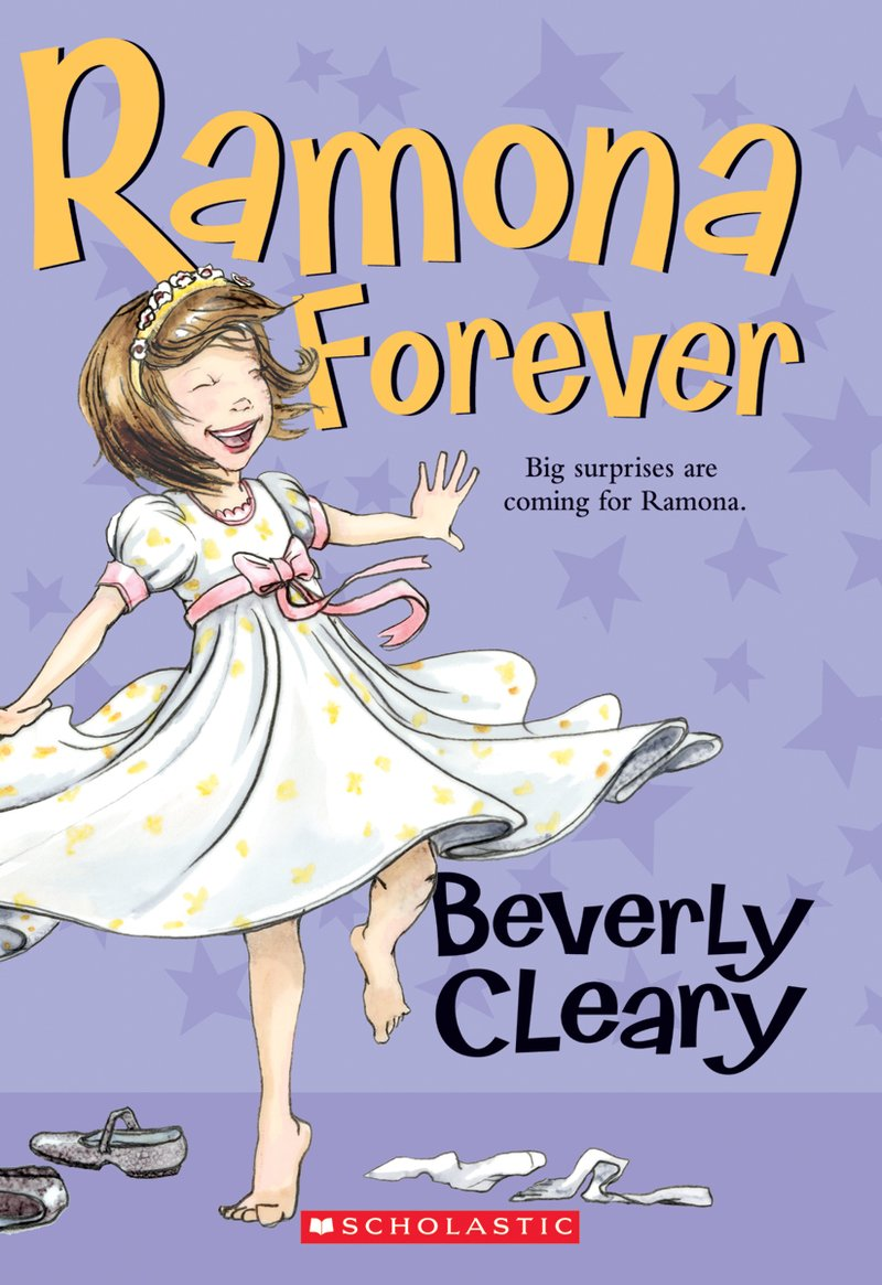 Ramona Forever by Beverly Cleary. Image Credit Scholastic.