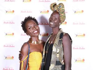 Travel blogger Ajok Deng and Nyagoa Nyuon of Catwalk to Freedom.