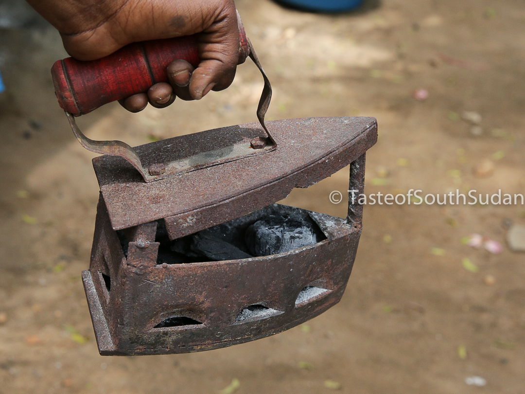 Traditional Charcoal Iron, Juba, South Sudan of South Sudan