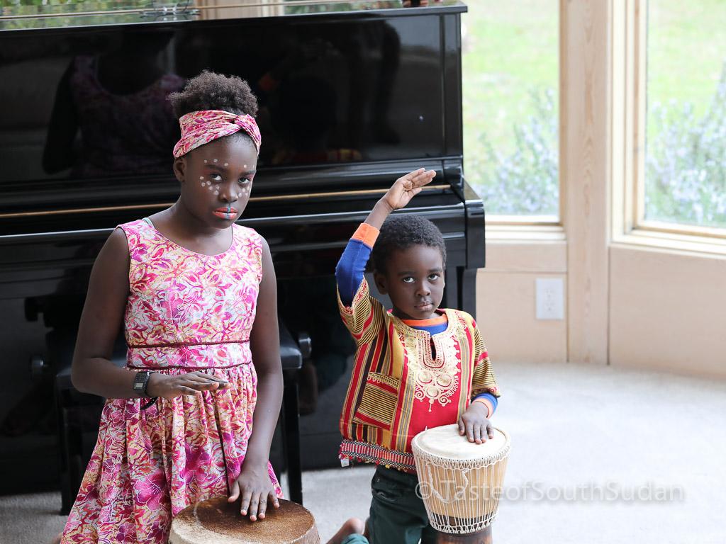 Taste of South Sudan, kids, South Sudan,